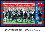 germany   circa 1997  a stamp... | Shutterstock . vector #193867172