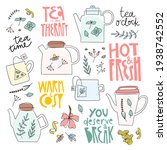herbal tea illustration and... | Shutterstock .eps vector #1938742552
