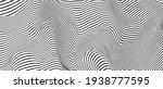 ripple texture black and white... | Shutterstock .eps vector #1938777595