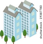 apartment icon | Shutterstock .eps vector #19387780
