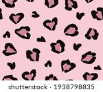Seamless Pink Leopard Pattern ...