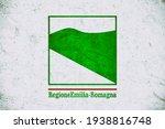 grunge flag of emilia romagna ... | Shutterstock . vector #1938816748