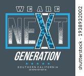 next generation typography... | Shutterstock .eps vector #1938932002