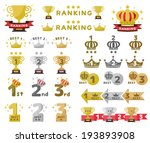 rankings icon | Shutterstock .eps vector #193893908