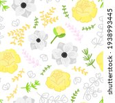vector flat illustration spring ... | Shutterstock .eps vector #1938993445