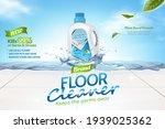 floor cleaner ads  plant based... | Shutterstock .eps vector #1939025362