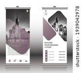 smart modern roll up banner ...   Shutterstock .eps vector #1939042978