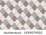 moroccan seamless pattern.... | Shutterstock .eps vector #1939074502