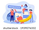 man and women tiny people with... | Shutterstock .eps vector #1939076332