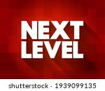 next level text quote  concept... | Shutterstock .eps vector #1939099135