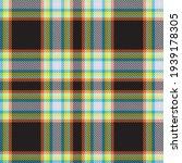 rainbow tartan glen plaid...   Shutterstock .eps vector #1939178305
