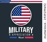 national military appreciation... | Shutterstock .eps vector #1939199692