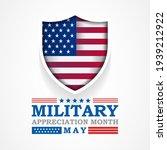 national military appreciation... | Shutterstock .eps vector #1939212922
