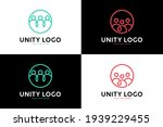 line art unity and community... | Shutterstock .eps vector #1939229455
