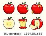 apple fruit set collections... | Shutterstock .eps vector #1939251658
