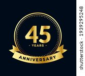 forty five anniversary... | Shutterstock .eps vector #1939295248