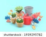 the watering shower is... | Shutterstock . vector #1939295782