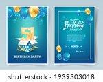 51st years birthday vector...   Shutterstock .eps vector #1939303018