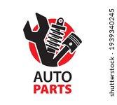 vector logo of car parts  auto... | Shutterstock .eps vector #1939340245