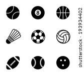 simple black and white vector... | Shutterstock .eps vector #193934402