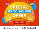 special offer horizontal banner ...   Shutterstock .eps vector #1939361698