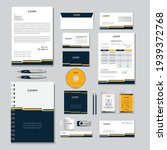 corporate identity template... | Shutterstock .eps vector #1939372768