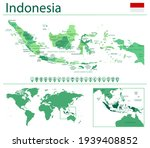 Detailed Map Of Indonesia With...