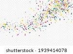 yellow paint effect transparent ... | Shutterstock .eps vector #1939414078