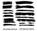 brush strokes bundle. vector... | Shutterstock .eps vector #1939427692