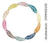 isolated vector colorful... | Shutterstock .eps vector #1939433155