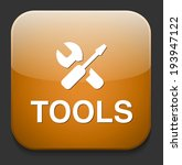tools icon | Shutterstock .eps vector #193947122