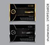 vector vip golden and platinum... | Shutterstock .eps vector #1939516828