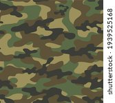 green military camouflage... | Shutterstock .eps vector #1939525168
