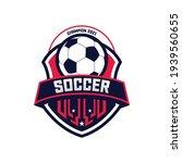 soccer football badge logo... | Shutterstock .eps vector #1939560655