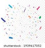 colorful confetti celebrations...   Shutterstock . vector #1939617052