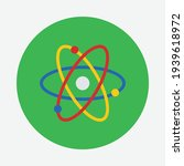 atom icon for graphic design...   Shutterstock .eps vector #1939618972