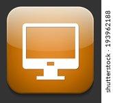 monitor icon | Shutterstock .eps vector #193962188