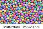 pile of multicolored lottery... | Shutterstock .eps vector #1939641778