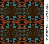 background brown  blue  girl... | Shutterstock . vector #1939656568