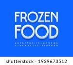 vector bright emblem frozen... | Shutterstock .eps vector #1939673512