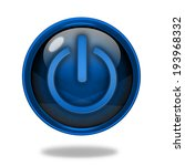 power circular icon on white... | Shutterstock . vector #193968332