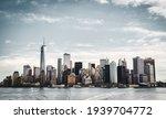 Manhattan Skyline From Hudson...