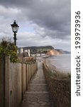 The Seafront At Sidmouth  East...