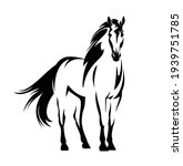 beautiful mustang horse with...   Shutterstock .eps vector #1939751785
