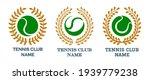 set of colorful tennis emblem... | Shutterstock .eps vector #1939779238