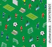 soccer stadium competition... | Shutterstock . vector #1939785805