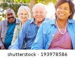 outdoor group portrait of... | Shutterstock . vector #193978586
