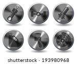 car interface sign | Shutterstock .eps vector #193980968