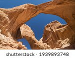 Under The Double Arch In Arches ...