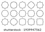 vintage price tag set. retro... | Shutterstock .eps vector #1939947562